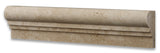 Ivory Travertine Honed OG-2 Chair Rail Molding Trim - American Tile Depot - Commercial and Residential (Interior & Exterior), Indoor, Outdoor, Shower, Backsplash, Bathroom, Kitchen, Deck & Patio, Decorative, Floor, Wall, Ceiling, Powder Room - 3