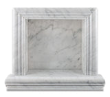 Carrara White Marble Hand-Made Custom Shampoo Niche / Shelf - SMALL - Honed - American Tile Depot - Commercial and Residential (Interior & Exterior), Indoor, Outdoor, Shower, Backsplash, Bathroom, Kitchen, Deck & Patio, Decorative, Floor, Wall, Ceiling, Powder Room - 2