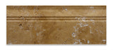 Gold / Yellow Travertine Honed 5 X 12 Baseboard Trim Molding - American Tile Depot - Commercial and Residential (Interior & Exterior), Indoor, Outdoor, Shower, Backsplash, Bathroom, Kitchen, Deck & Patio, Decorative, Floor, Wall, Ceiling, Powder Room - 2