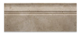 Ivory Travertine Honed 5 X 12 Baseboard Trim Molding - American Tile Depot - Commercial and Residential (Interior & Exterior), Indoor, Outdoor, Shower, Backsplash, Bathroom, Kitchen, Deck & Patio, Decorative, Floor, Wall, Ceiling, Powder Room - 2