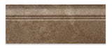 Noce Travertine Honed 5 X 12 Baseboard Trim Molding - American Tile Depot - Commercial and Residential (Interior & Exterior), Indoor, Outdoor, Shower, Backsplash, Bathroom, Kitchen, Deck & Patio, Decorative, Floor, Wall, Ceiling, Powder Room - 2