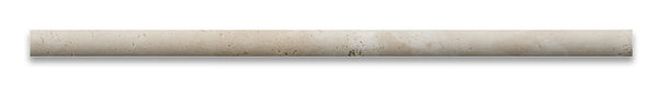 Ivory Travertine 1 2 X 12 Pencil Liner Honed