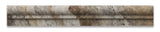 Philadelphia Travertine Honed OG-1 Chair Rail Molding Trim - American Tile Depot - Commercial and Residential (Interior & Exterior), Indoor, Outdoor, Shower, Backsplash, Bathroom, Kitchen, Deck & Patio, Decorative, Floor, Wall, Ceiling, Powder Room - 2