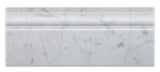 Carrara White Marble Honed Baseboard Trim Molding - American Tile Depot - Commercial and Residential (Interior & Exterior), Indoor, Outdoor, Shower, Backsplash, Bathroom, Kitchen, Deck & Patio, Decorative, Floor, Wall, Ceiling, Powder Room - 2