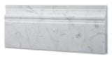 Carrara White Marble Honed Baseboard Trim Molding - American Tile Depot - Commercial and Residential (Interior & Exterior), Indoor, Outdoor, Shower, Backsplash, Bathroom, Kitchen, Deck & Patio, Decorative, Floor, Wall, Ceiling, Powder Room - 3
