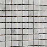 5/8 X 5/8 Carrara White Marble Polished Mosaic Tile - American Tile Depot - Commercial and Residential (Interior & Exterior), Indoor, Outdoor, Shower, Backsplash, Bathroom, Kitchen, Deck & Patio, Decorative, Floor, Wall, Ceiling, Powder Room - 3