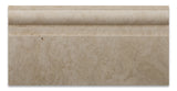 Ivory Travertine Honed 6 X 12 Baseboard Trim Molding - American Tile Depot - Commercial and Residential (Interior & Exterior), Indoor, Outdoor, Shower, Backsplash, Bathroom, Kitchen, Deck & Patio, Decorative, Floor, Wall, Ceiling, Powder Room - 2