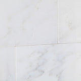 3 X 6 Oriental White / Asian Statuary Marble Honed Subway Brick Field Tile - American Tile Depot - Shower, Backsplash, Bathroom, Kitchen, Deck & Patio, Decorative, Floor, Wall, Ceiling, Powder Room, Indoor, Outdoor, Commercial, Residential, Interior, Exterior