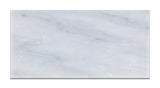 6 X 12 Oriental White / Asian Statuary Marble Honed Subway Brick Field Tile - American Tile Depot - Commercial and Residential (Interior & Exterior), Indoor, Outdoor, Shower, Backsplash, Bathroom, Kitchen, Deck & Patio, Decorative, Floor, Wall, Ceiling, Powder Room - 2
