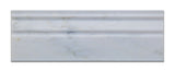 Oriental White / Asian Statuary Marble Polished Baseboard Trim Molding - American Tile Depot - Commercial and Residential (Interior & Exterior), Indoor, Outdoor, Shower, Backsplash, Bathroom, Kitchen, Deck & Patio, Decorative, Floor, Wall, Ceiling, Powder Room - 2