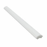 Thassos White Marble Honed Quarter - Round Trim Molding - American Tile Depot - Commercial and Residential (Interior & Exterior), Indoor, Outdoor, Shower, Backsplash, Bathroom, Kitchen, Deck & Patio, Decorative, Floor, Wall, Ceiling, Powder Room - 1