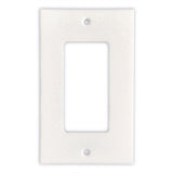 Thassos White Marble Single Rocker Switch Wall Plate / Switch Plate-Polished