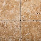 6 X 6 Walnut Travertine Tumbled Field Tile - American Tile Depot - Commercial and Residential (Interior & Exterior), Indoor, Outdoor, Shower, Backsplash, Bathroom, Kitchen, Deck & Patio, Decorative, Floor, Wall, Ceiling, Powder Room - 2