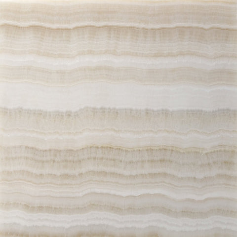 18 X 18 Premium White Onyx VEIN-CUT Polished Field Tile - American Tile Depot - Shower, Backsplash, Bathroom, Kitchen, Deck & Patio, Decorative, Floor, Wall, Ceiling, Powder Room, Indoor, Outdoor, Commercial, Residential, Interior, Exterior