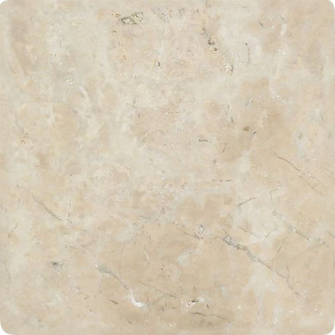 6 X 6 Cappuccino Marble Tumbled Field Tile