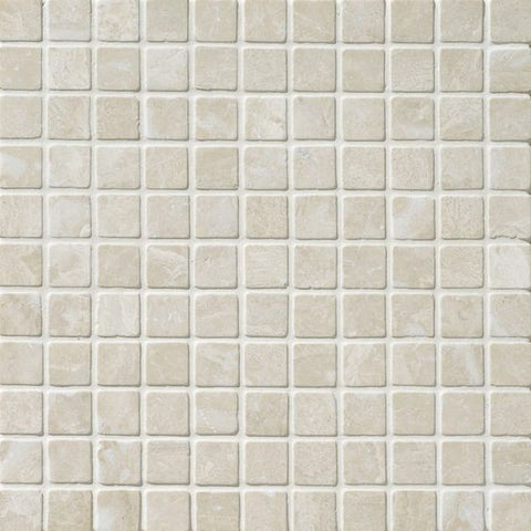 1 X 1 Diano Royal ( Queen Beige ) Marble Polished Mosaic Tile