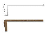 Walnut Travertine Hand-Made Custom Shower Corner Shelf - Honed - American Tile Depot - Commercial and Residential (Interior & Exterior), Indoor, Outdoor, Shower, Backsplash, Bathroom, Kitchen, Deck & Patio, Decorative, Floor, Wall, Ceiling, Powder Room - 5