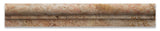 Scabos Travertine Honed OG-1 Chair Rail Molding Trim - American Tile Depot - Commercial and Residential (Interior & Exterior), Indoor, Outdoor, Shower, Backsplash, Bathroom, Kitchen, Deck & Patio, Decorative, Floor, Wall, Ceiling, Powder Room - 2