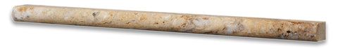 Scabos Travertine 1 2 X 12 Pencil Liner Honed