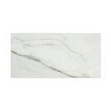6 X 12 Calacatta Gold Marble Polished Subway Brick Field Tile - American Tile Depot - Commercial and Residential (Interior & Exterior), Indoor, Outdoor, Shower, Backsplash, Bathroom, Kitchen, Deck & Patio, Decorative, Floor, Wall, Ceiling, Powder Room - 2