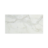 6 X 12 Calacatta Gold Marble Honed Subway Brick Field Tile - American Tile Depot - Commercial and Residential (Interior & Exterior), Indoor, Outdoor, Shower, Backsplash, Bathroom, Kitchen, Deck & Patio, Decorative, Floor, Wall, Ceiling, Powder Room - 7