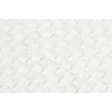 Thassos White Marble 3D Small Bread Mosaic Tile Honed - American Tile Depot