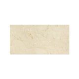 12 X 24 Crema Marfil Marble Polished Field Tile - American Tile Depot - Shower, Backsplash, Bathroom, Kitchen, Deck & Patio, Decorative, Floor, Wall, Ceiling, Powder Room, Indoor, Outdoor, Commercial, Residential, Interior, Exterior