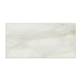 3 X 6 Calacatta Gold Marble Polished Subway Brick Field Tile - American Tile Depot - Commercial and Residential (Interior & Exterior), Indoor, Outdoor, Shower, Backsplash, Bathroom, Kitchen, Deck & Patio, Decorative, Floor, Wall, Ceiling, Powder Room - 9