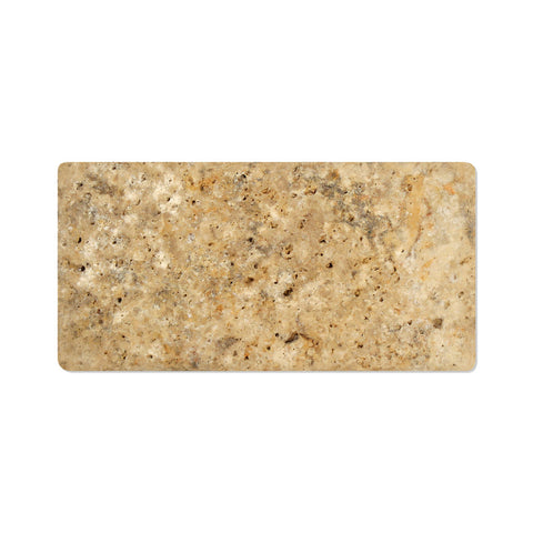3 X 6 Scabos Travertine Subway Brick Field Tile Tumbled