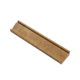 Noce Travertine Crown Mercer Molding Trim Honed- American Tile Depot
