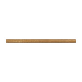 Noce Travertine 1/2 X 12 Pencil Liner Honed- American Tile Depot