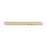 Durango Cream Travertine 1 X 12 Rope Liner Honed american-tile-depot