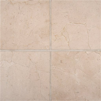 6 X 6 Crema Marfil Marble Polished Field Tile