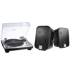 Pack Tornamesa AT-LP 120 USB + Bocinas JBL C2PS
