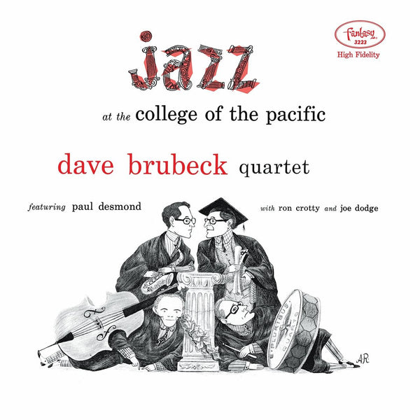 Dave Brubeck Quartet Featuring Paul Desmond ‎– Jazz At The College Of The Pacific