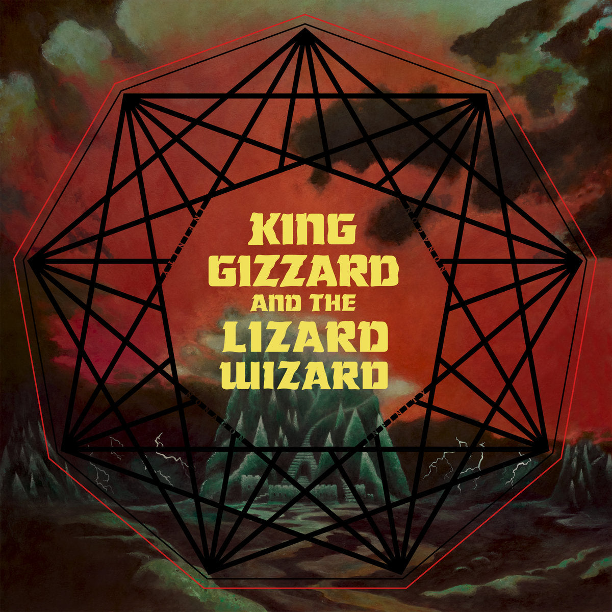 King Gizzard And The Lizard Wizard ‎– Nonagon Infinity