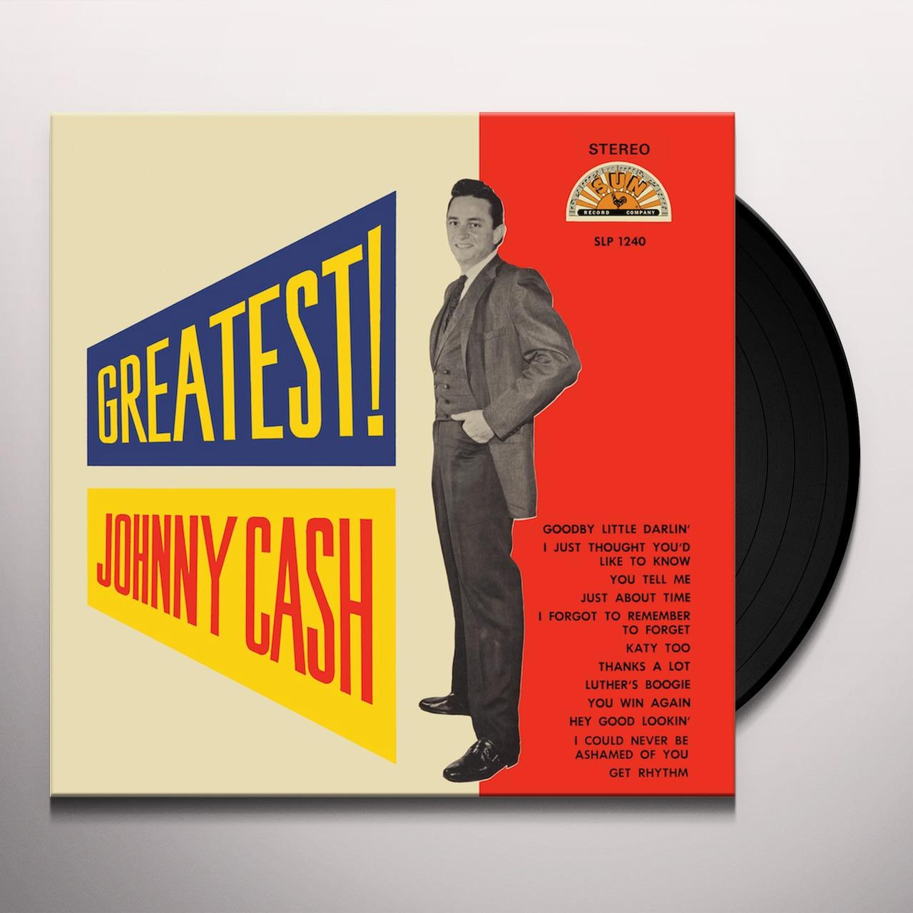 Johnny Cash ‎– Greatest!