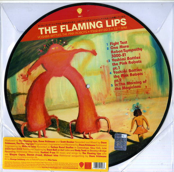 The Flaming Lips ‎– Yoshimi Battles The Pink Robots (Picture)