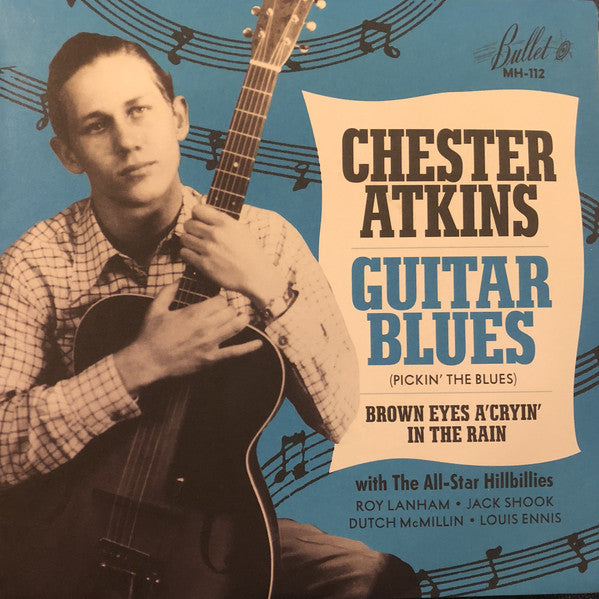 Chester Atkins And The All-Star Hillbillies ‎– Guitar Blues (Pickin' The Blues)