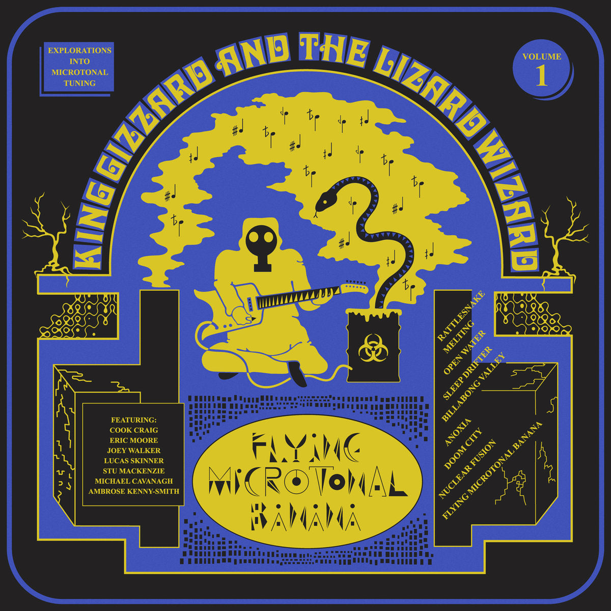 King Gizzard And The Lizard Wizard ‎– Flying Microtonal Banana