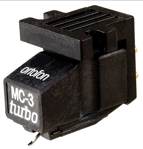 Fonocaptor Ortofon Turbo MC-3 Moving Coil compatible con phono MM