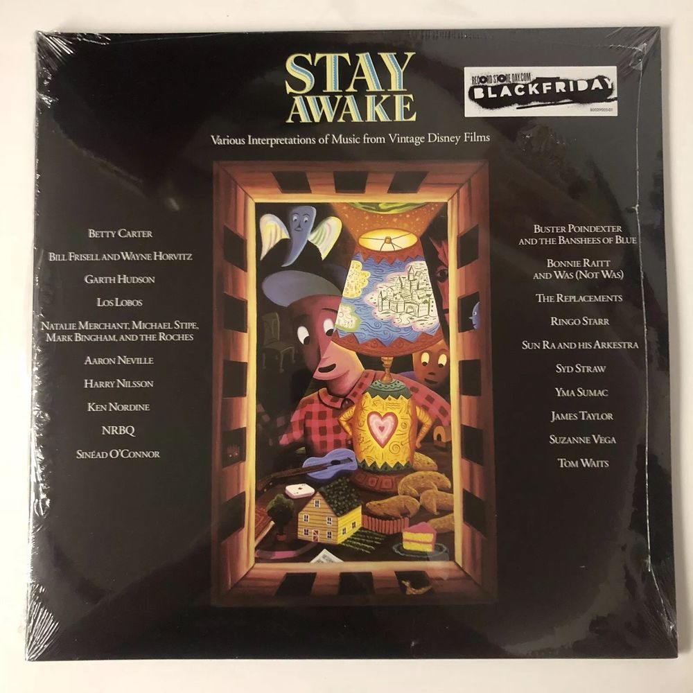 Various ‎– Stay Awake (Various Interpretations Of Music From Vintage Disney Films)