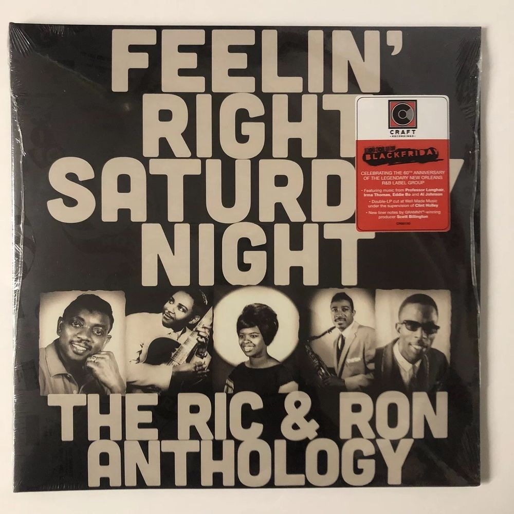 VA ‎– Feelin' Right Saturday Night: The Ric & Ron Anthology