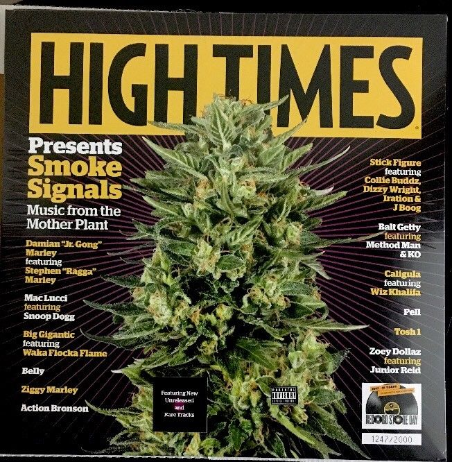 Various ‎– High Times Presents: Smoke Signals From The Mother Plant