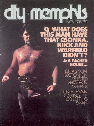 November 1976, Memphis magazine