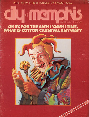 April 1977, Memphis magazine