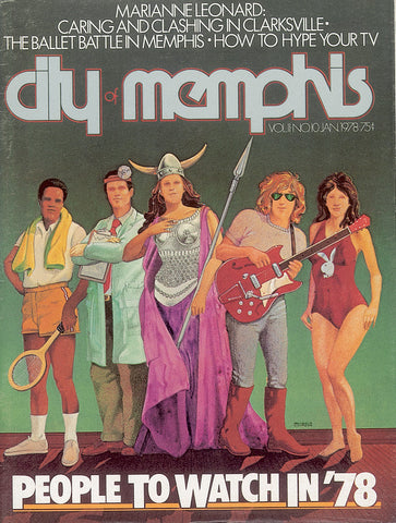 January 1978, Memphis magazine