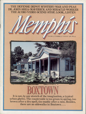 August 1980, Memphis magazine