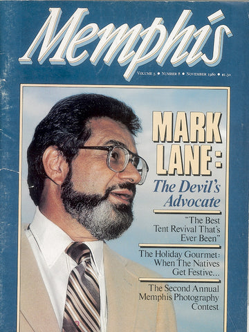 November 1980, Memphis magazine