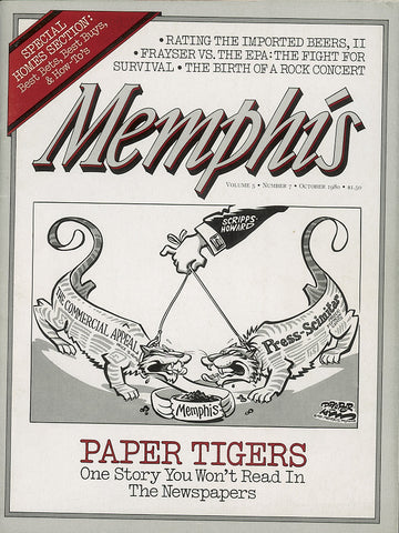 October 1980, Memphis magazine
